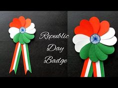 DIY Republic Day Badge/Making Indian Flag Badge/Indian Tricolor January Craft for Kids How to make Republic January Badge at home. Independence Day Activities, Independence Day Decoration, Paper Roll Crafts, Paper Crafts For Kids, Arts And Crafts, Indian Flag Colors, India Crafts, Bird Crafts, Animal Crafts