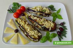 The Recipe for Tongues from Eggplants and Squashes with Cheese | Children's Food | Genius cook - Healthy Nutrition, Tasty Food, Simple Recipes
