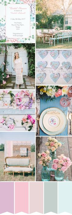 How to Throw a Shabby Chic Meets Boho Bridal Shower or Hen Party  // www.onefabday.com