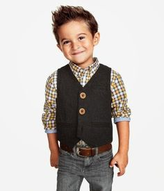 kidstylefinder: Button Down Vest