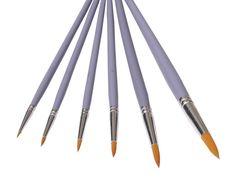 6 Toray Künstlerpinsel Spitzpinsel spitz Pinsel Set Toraypinsel Acrylpinsel Aquarellpinsel