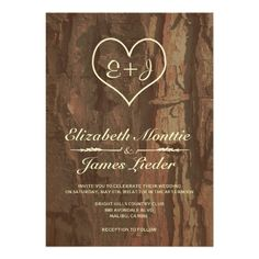 DealsTree Bark Wedding Invitations Announcementstoday price drop and special promotion. Get The best buy