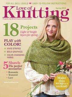 Love of Knitting  Spring 2016 - 轻描淡写 - 轻描淡写