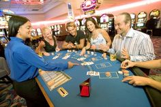 Spend your night at one of Palm Beach's casinos