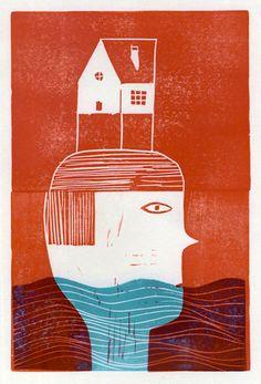 Cristobal Schmal - print block series