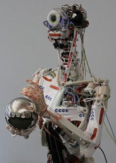 Ecci, the world's most advanced robot