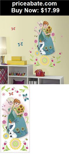 Kids-at-Home: New Giant DISNEY FROZEN FEVER WALL DECALS Elsa Anna Olaf Stickers Bedroom Decor - BUY IT NOW ONLY $17.99