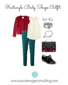 Rectangle Body Shape Outfit
