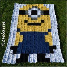 - Page 2 - Granny mania ! Crochet Square Blanket, Crochet Quilt, Afghan Crochet Patterns, Crochet Squares, Baby Blanket Crochet, Crochet Afghans, 8 Bit Crochet, Crochet Granny, Crochet For Kids