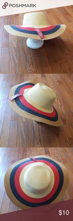 f72fddc65b7 Merona Floppy Sun Hat Multi Color NWT This floppy sun hat is new with tags.  Don t be afraid to drop offers in the comments.