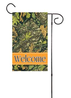 We offer unique garden flags to fit your life! Also be sure to check out the matching door hangers and welcome mats! Our single sided flags are printed onto flag material using dye-sublimation. This p