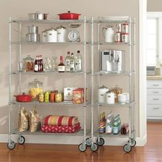 Metro Commercial Kitchen Shelving systems.