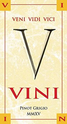 2015 Vini Pinot Grigio >>> Click on the image for additional details.