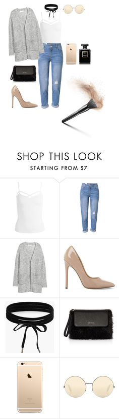 """""""Untitled #142"""" by hanulaa2510 ❤ liked on Polyvore featuring Sans Souci, WithChic, Steve Madden, Boohoo, Karen Millen, Victoria Beckham and Chanel"""