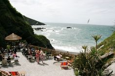 Amazing secluded location - Tunnels Beaches wedding venue in Ilfracombe, Devon