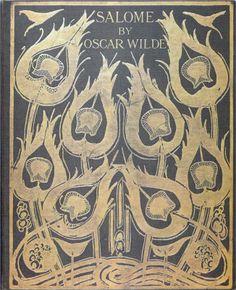 Original sketch for the cover of Salome - Aubrey Beardsley