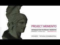 Autodesk Memento Webinar #1 - An Introduction to Project Memento - YouTube