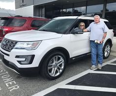 Many thanks to The Otterbachers here with their New 2017 Ford Explorer! #YoureGonnaLoveIt #TeamKoons #FordFamily #TeamKoons #FordExplorer #Annapolis #KoonsFord #koonsfordannapolis
