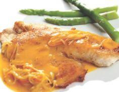 Filete de tilapia en salsa de chontaduro y palmitos Menu, Chicken, Recipes, Food, Spanish Kitchen, Kitchens, Menu Board Design, Rezepte, Essen
