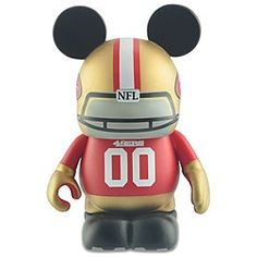 Two of My favorite things everything Disney and everything 49ers <3 <3 <3