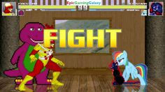 Barney The Dinosaur & Firestorm VS Dex-Starr The Cat & Rainbow Dash In A MUGEN Match / Battle This video showcases Gameplay of Barney The Dinosaur From The Barney & Friends Series And Firestorm The Superhero VS Dex-Starr The Cat And Rainbow Dash From The My Little Pony Friendship Is Magic Series In A MUGEN Match / Battle / Fight