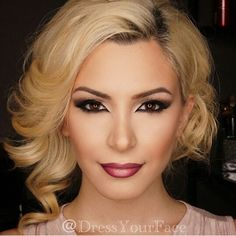 Gorgeous holiday/party makeup