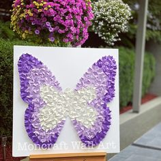 Excited to share this item from my shop: Paper butterfly Nursery wall art, paper butterflies art paper Art Frame Decor, Ombré Nursery Room Home Decor - 30 INCH Shadow Frame Butterfly Nursery, Butterfly Kids, Butterfly Wall Art, Paper Butterflies, Butterfly Shape, Art Wall Kids, Nursery Wall Art, Nursery Room, Girl Nursery