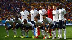 France pose for a team photo prior to the 2014 FIFA World Cup Brazil Round of 16 match between France and Nigeria at Estadio Nacional on June 2014 in Brasilia, Brazil. Poses For Photos, Team Photos, Photos Du, Soccer World, World Football, World Cup 2014, Fifa World Cup, France Team, Word Cup