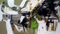 untitled diptych, 2014, Miriana Savova