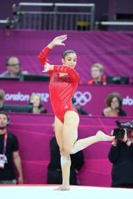 "Aly Raisman, the 18-year-old captain of the United States women's gymnastics team, won a gold in the team final, a bronze for the balance and a gold in the floor exercise.    ""That was the best routine I've ever done,"" said Raisman, who is from Needham, Mass., of her floor routine. ""To have that come the day of the Olympic final, that's what you work for your whole life."""