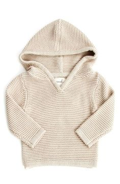 Peek 'Becca' Hooded Sweater (Baby Girls) available at #Nordstrom