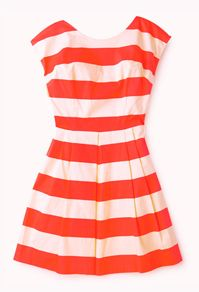 Classic Striped Woven Dress #Forever21 #DestinationVacation #SweetEscape