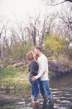 fishing engagement session by eMarie Photography