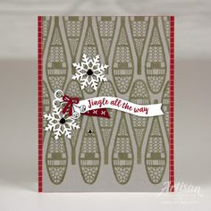 Alpine Adventure cards for Stampin' Up! FB Page - Charlet Mallett, Stampin' Up! Christmas Cards 2018, Stampin Up Christmas, Noel Christmas, Xmas Cards, Winter Christmas, Handmade Christmas, Christmas Greetings, Christmas 2019, Christmas Ideas