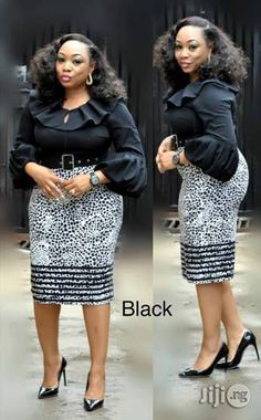 ng™ Turkey classic midi dress for ladies suitable for every occasion and reliable ➔ Turkey Classic Midi Dress for Ladies in Agege - Clothing, De Style Masters Short African Dresses, African Inspired Fashion, Latest African Fashion Dresses, African Print Dresses, Womens Dress Suits, African Traditional Dresses, African Attire, Classy Dress, Rock