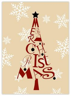 christmas tree letters business christmas cards from cardsdirect corporate holiday cards business christmas cards - Holiday Christmas Cards