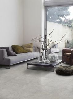 concrete look tile