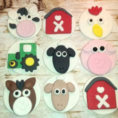fondant cupcake toppers - Google Search