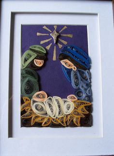 Another quilled nativity
