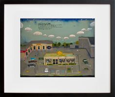 Denny's Parking Lot by Esther Pearl Watson