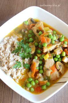 Obiad w 30 minut - Potrawka mięsno warzywna