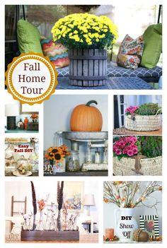 Fall Home Tour at DIYShowOff