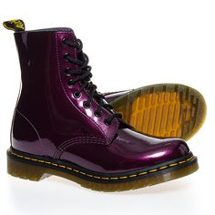 Dr Martens Pascal Spectra Patent Boots (Purple)  These are NICE!!!!!
