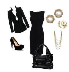Little black dress/emergency back up!