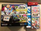 Nintendo Wii U Mario & Luigi Premium Pack 32GB w/ Extra Games and Controllers