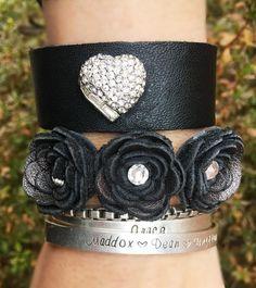 Leather Cuff – LoveCrazy Designs