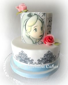 Alice in wonderland cake https://www.facebook.com/CassieCharltonCakesCornwall?ref=hl