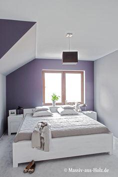 #Bett Modern, Hochwertig, Weiß Www.massiv Aus Holz.de