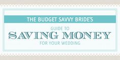 Savings To Your Bride 9