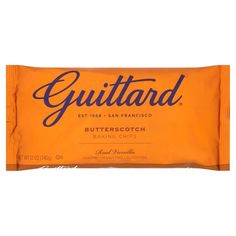 Guittard butterscotch chip cookie recipes